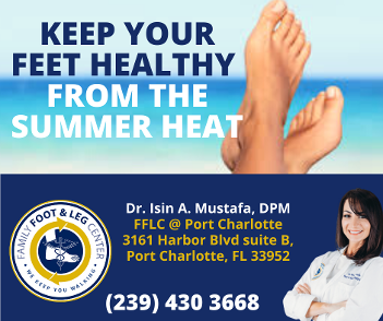 keep your feet healthy from the summer heat